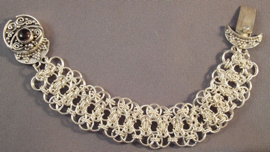 Chainmaille Lace Bracelet