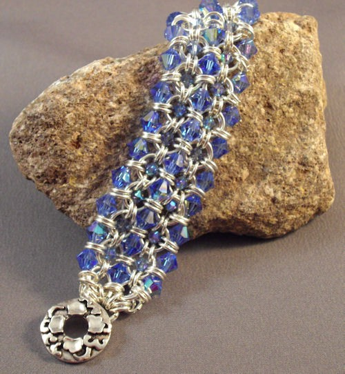 Crystal Maille Cuff Bracelet Kit