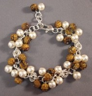 Jeweled Clusters in Maille Bracelet Kit