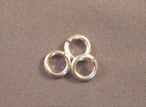 Silver Filled Round Rings