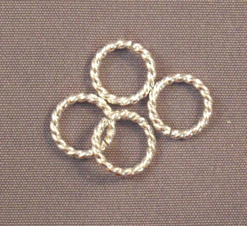 Sterling Silver Twisted Rings