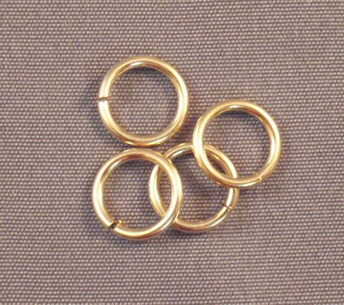 Yellow Gold Filled Round Rings