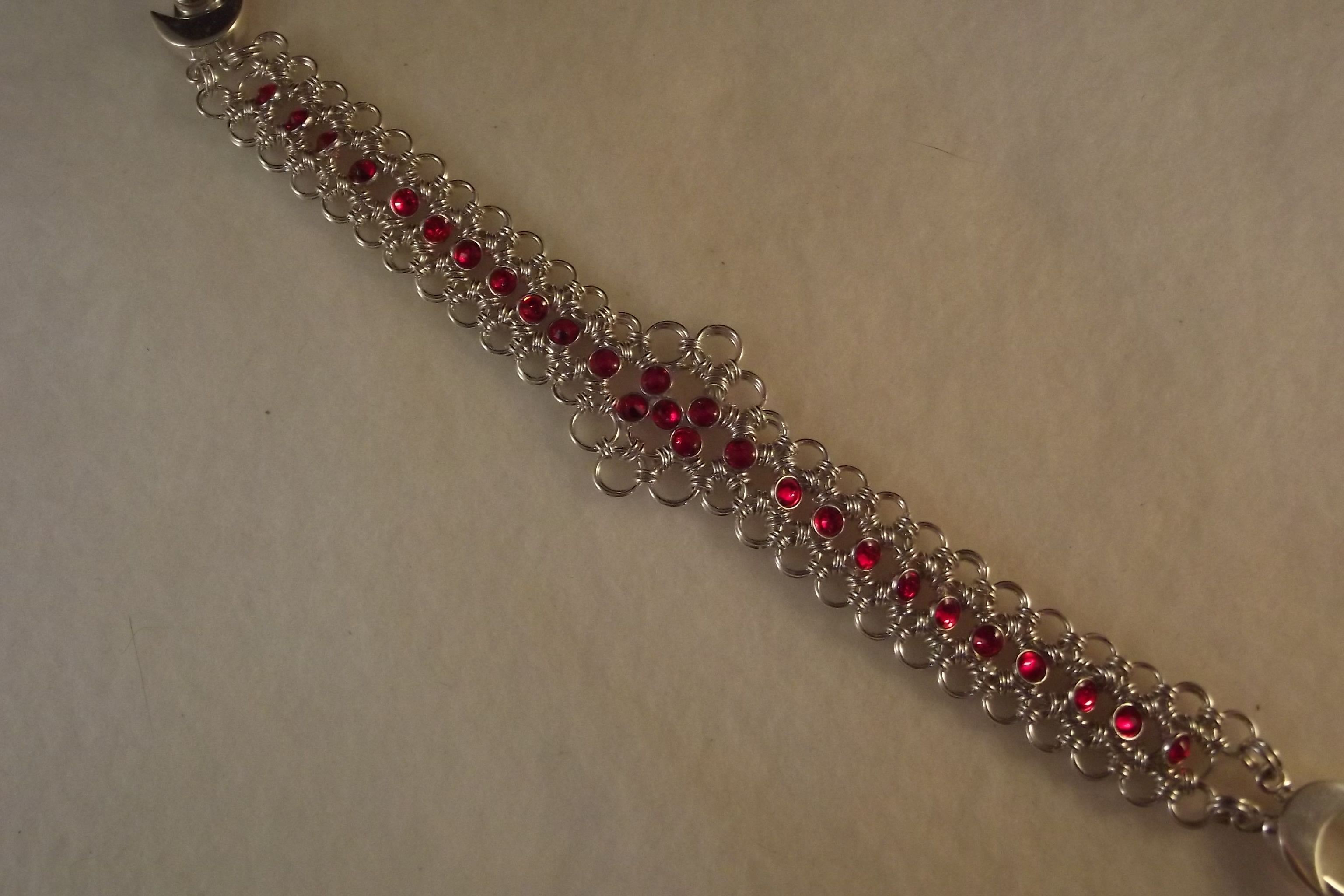 Crystalett Lace in Maille Bracelet