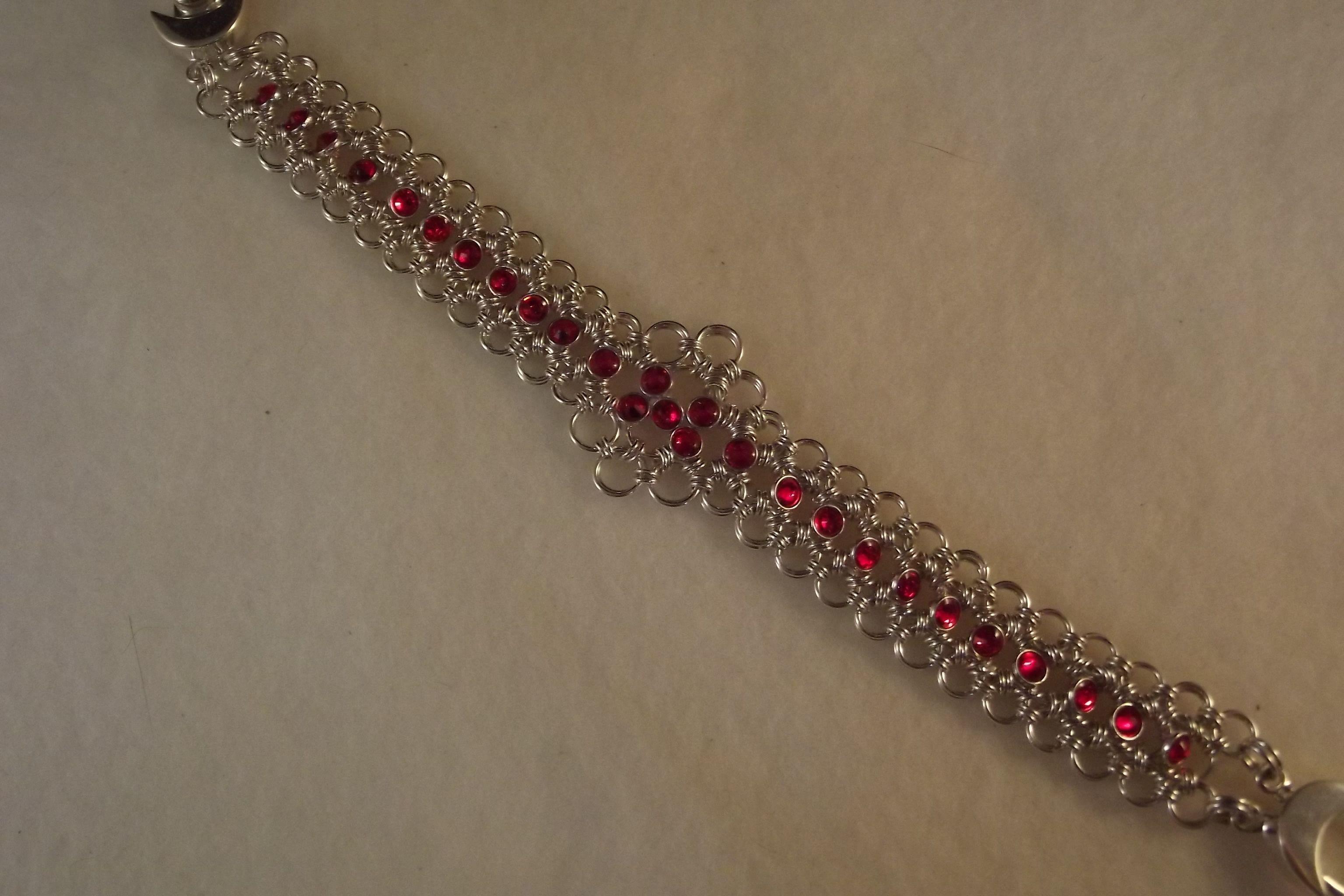 Crystalett Lace in Maille Bracelet
