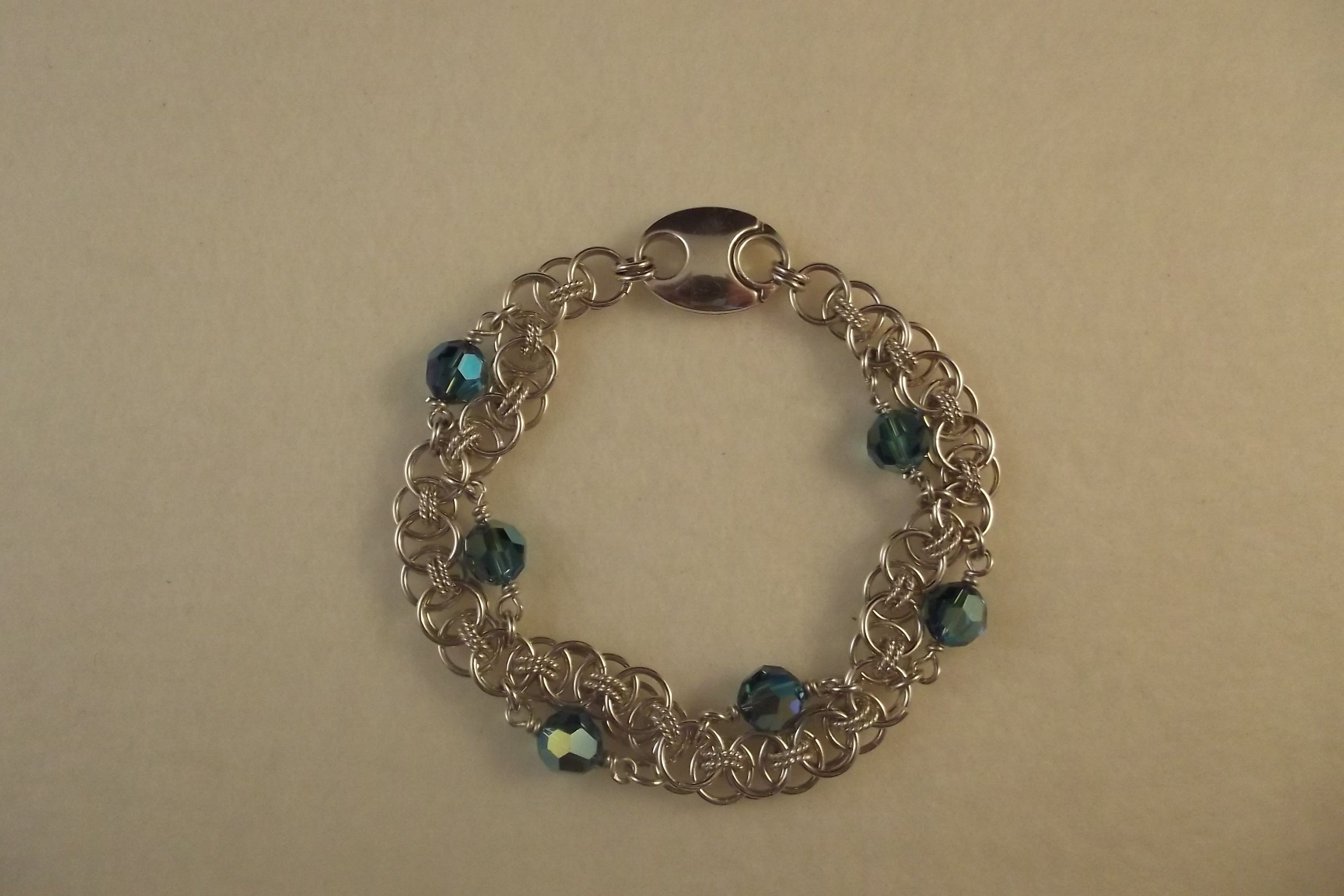 Crystal Wave Bracelet