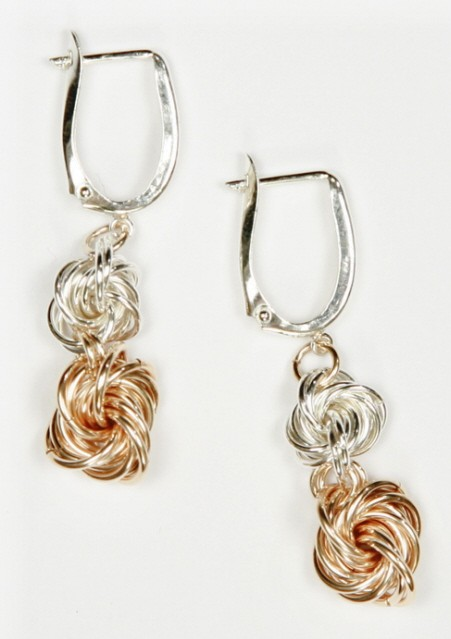 Double Love Knot Earrings Kit