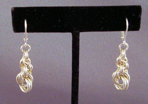 Graduated Double Spiral Rope Earrings Kit