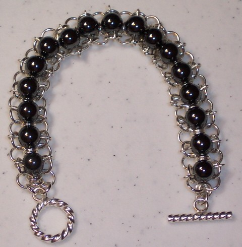 Mesh Beaded Chain Bracelet Kit