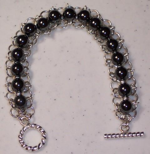 Mesh Beaded Chain Bracelet Kit