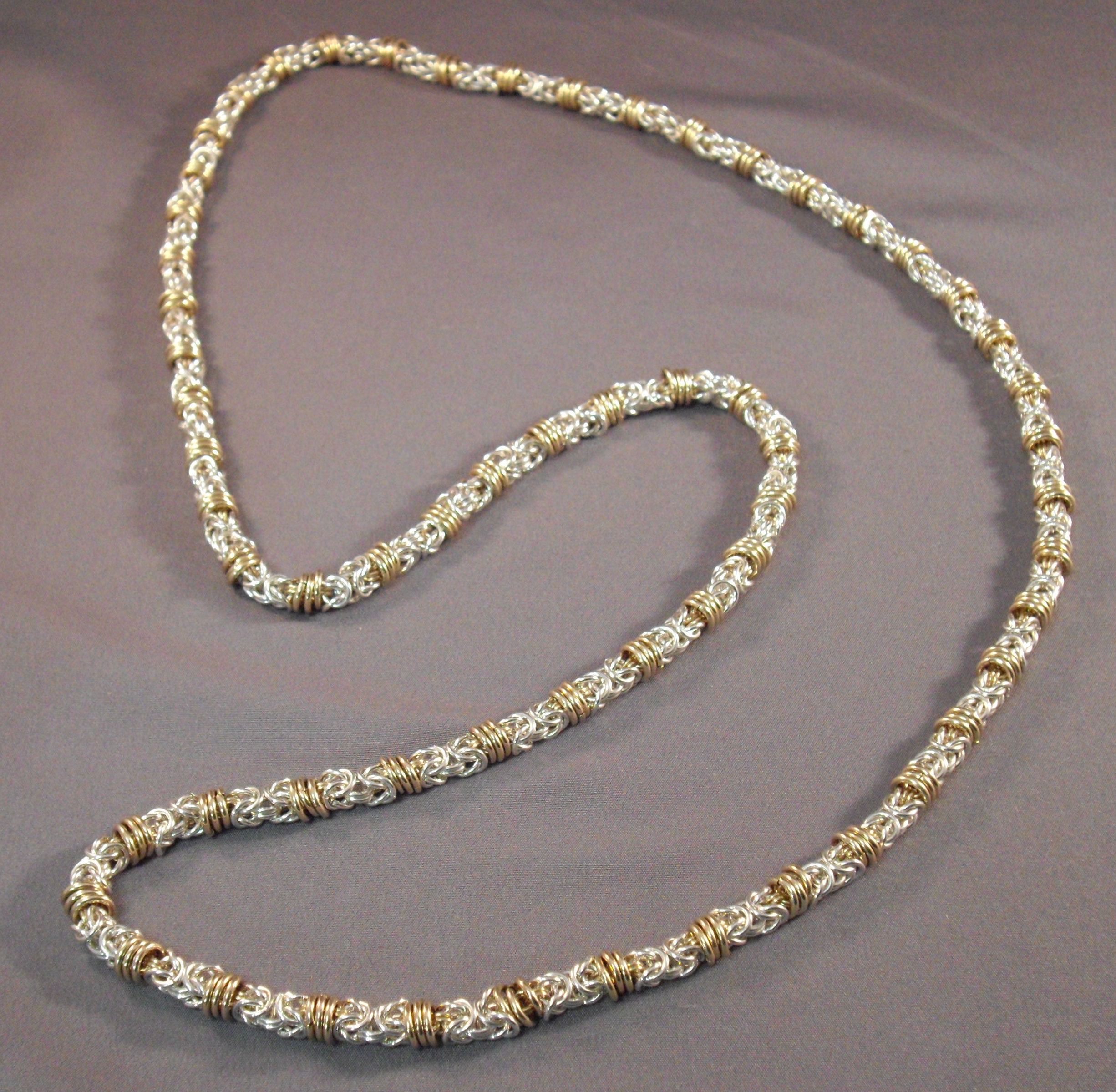 Rolling Byzantine Necklace Kit