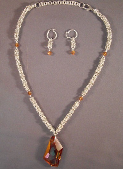The Ultimate Chainmaille Necklace and Earrings Kit
