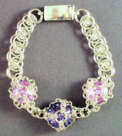 Triple Rivoli in Maille Bracelet Kit