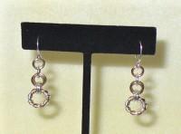 Twisted Ring Link Earrings Kit