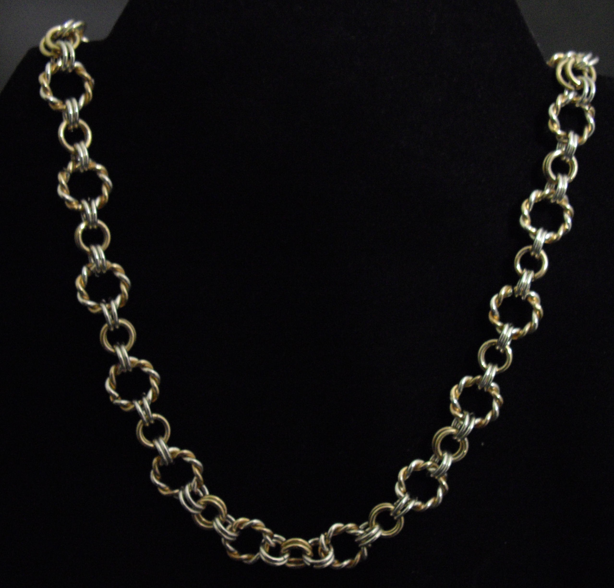Twisted Ring Link Necklace Kit
