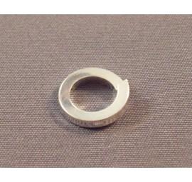 Argentium Silver Square Rings