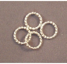 Argentium Silver Twisted Rings