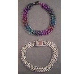 European 4-in-1 Small Niobium or Sterling Silver Bracelet Kit