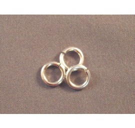 Sterling Silver Round Rings