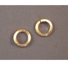 Yellow Gold Filled Square Rings