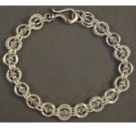 Crystal Dream with a Twist Bracelet