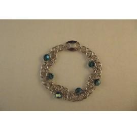 Crystal Wave Bracelet