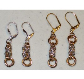 Byzantine and Flowers Earrings Kit