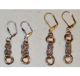 Byzantine and Flowers Earrings Kit