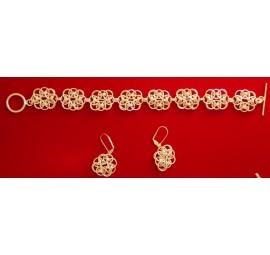 Celtic Knot Bracelet and Earring Kit