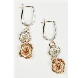 Double Love Knot Earrings Kit