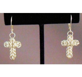 Full Persian Cross Earrings Kit