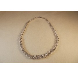 Graduated Double Spiral Rope Necklace