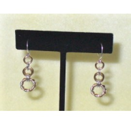 Twisted Ring Link Earrings Kit